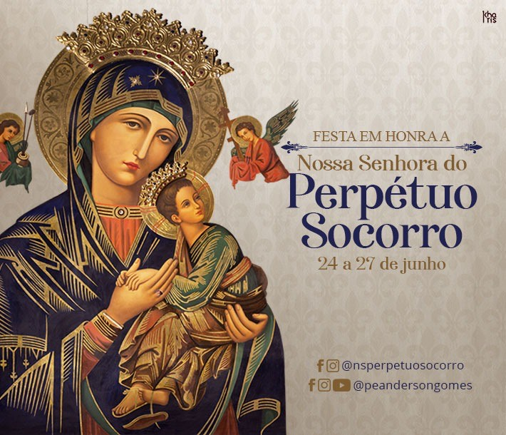 Festa em honra a Nossa Senhora do Perpétuo Socorro